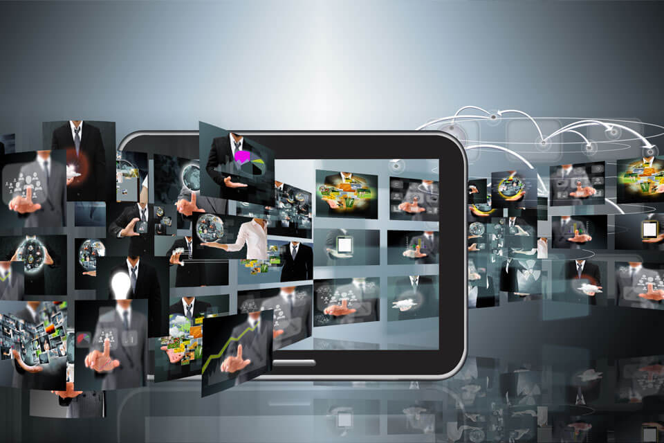 Digital Advertising Collage